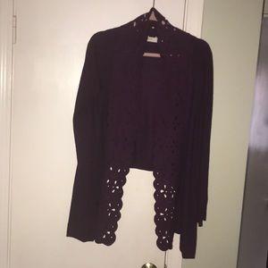 Sweaters - Purple Anthropologie sweater